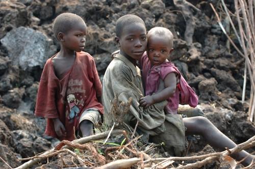Enfants en République Démocratique du Congo