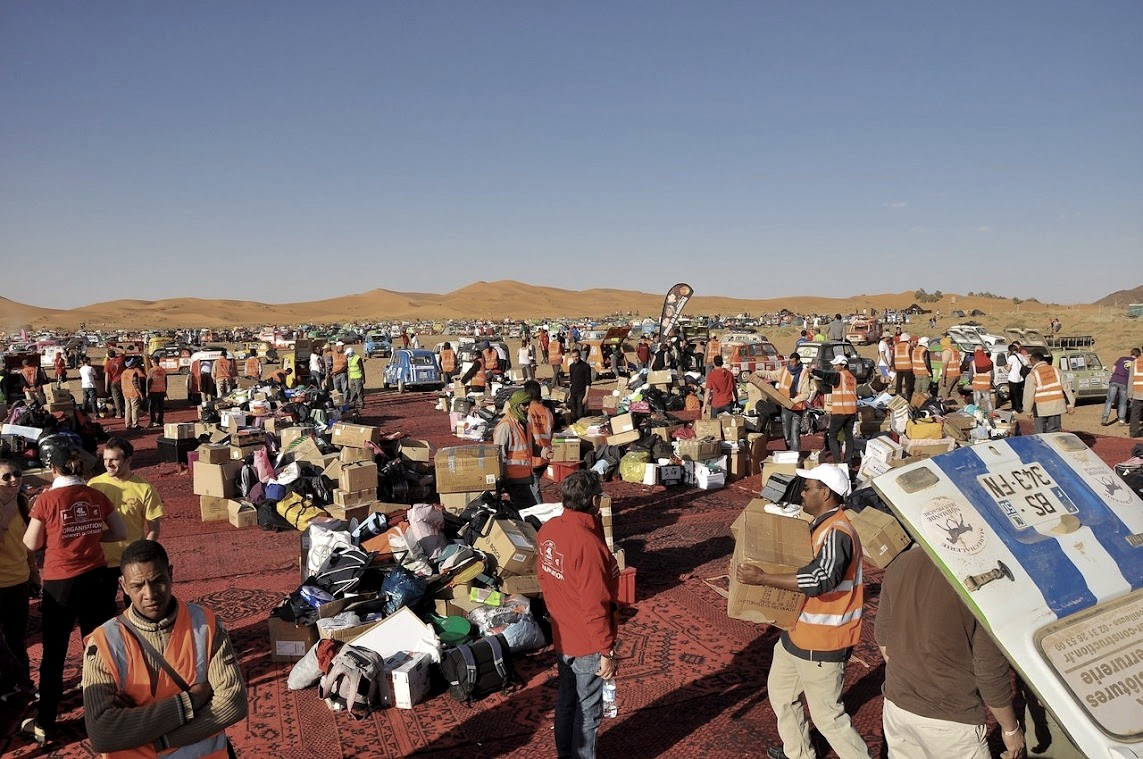 Humanitaire au Maroc