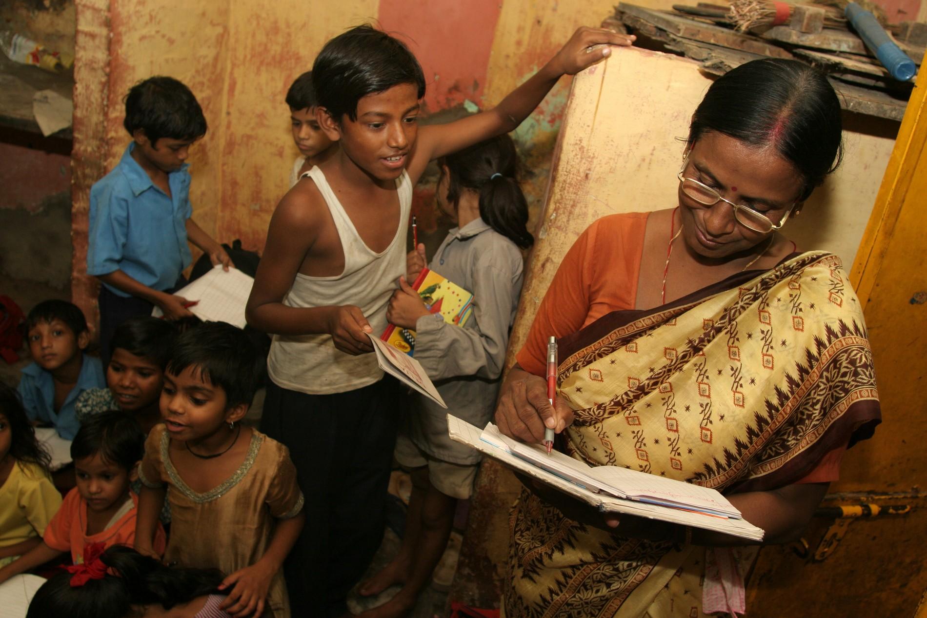 Humanitaire en Inde
