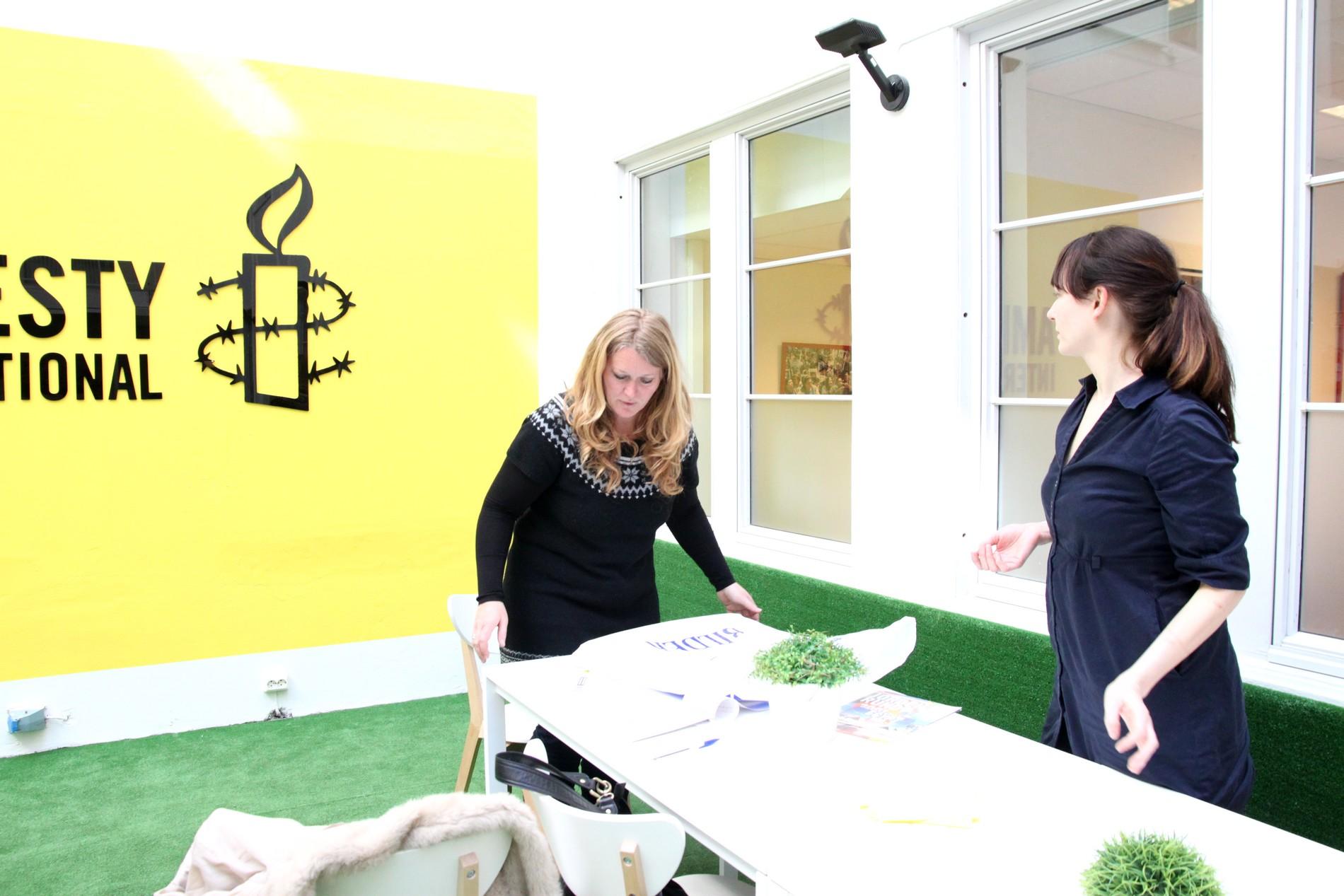 L'association Amnesty International