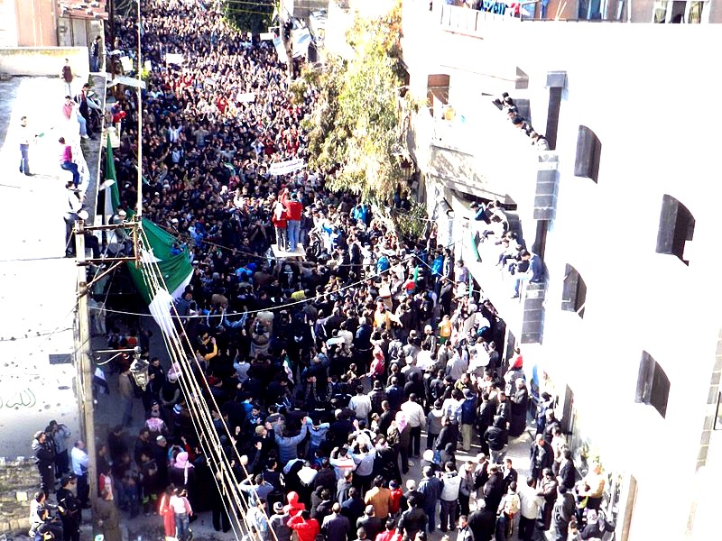 Manifestation en Syrie