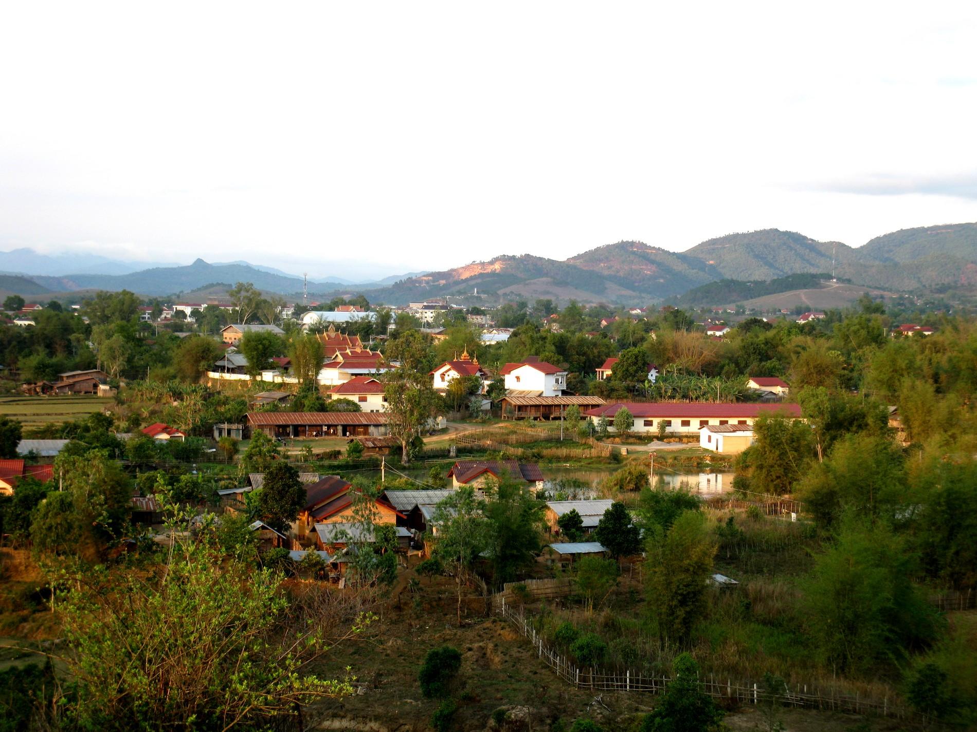 campagne laossienne
