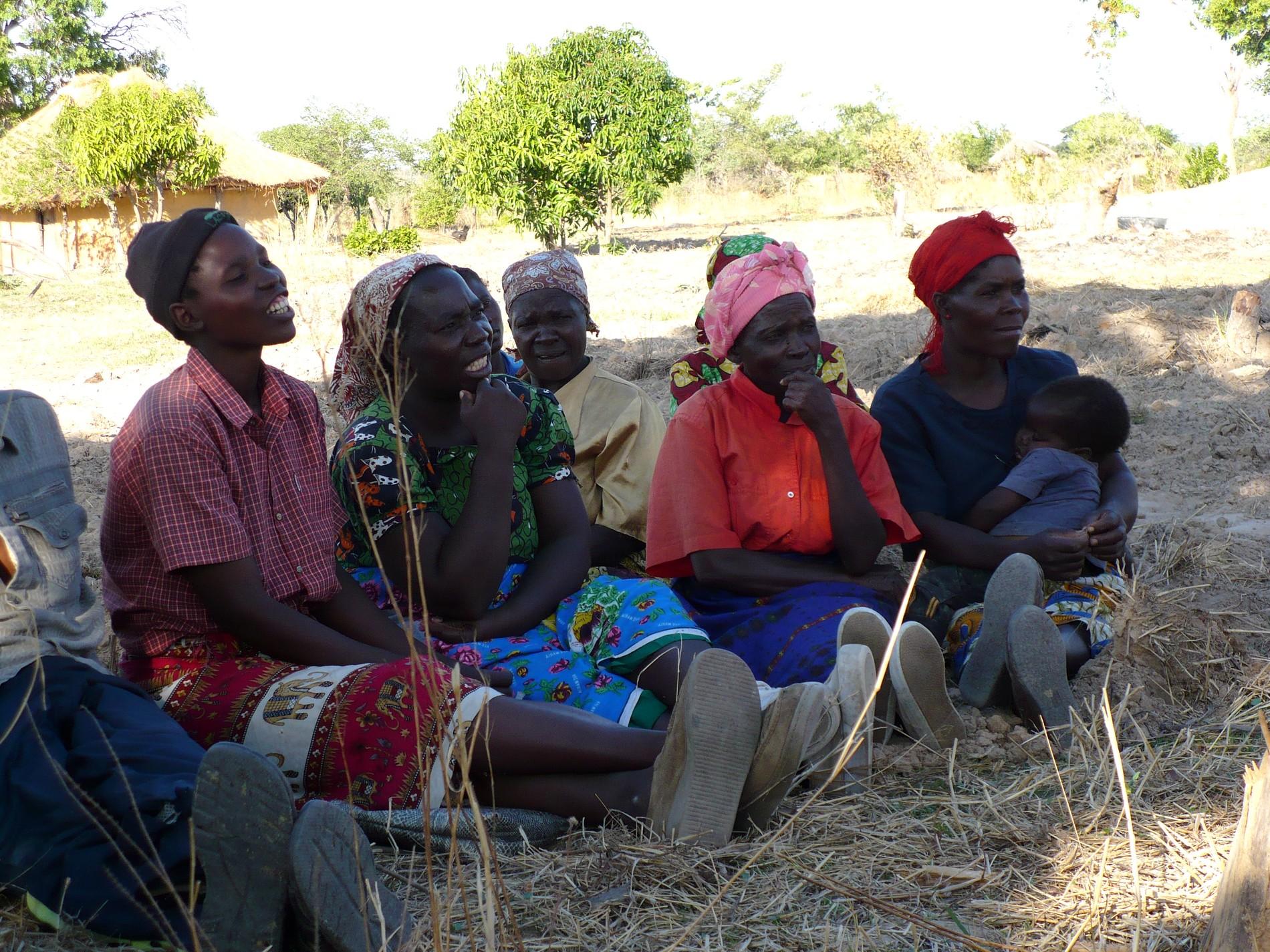 Femmes de Zambie