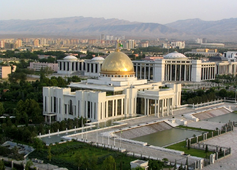 Ashgabat au Turkménistan