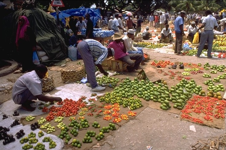 Marché de Zanzibar City