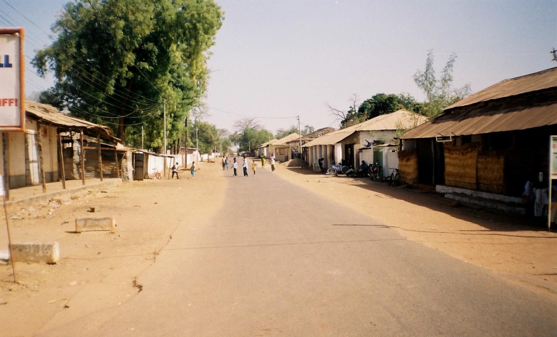 Georgetown en Gambie