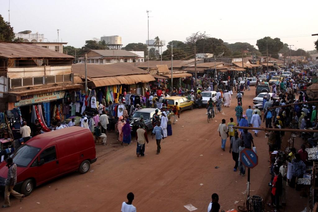 Serekunda en Gambie