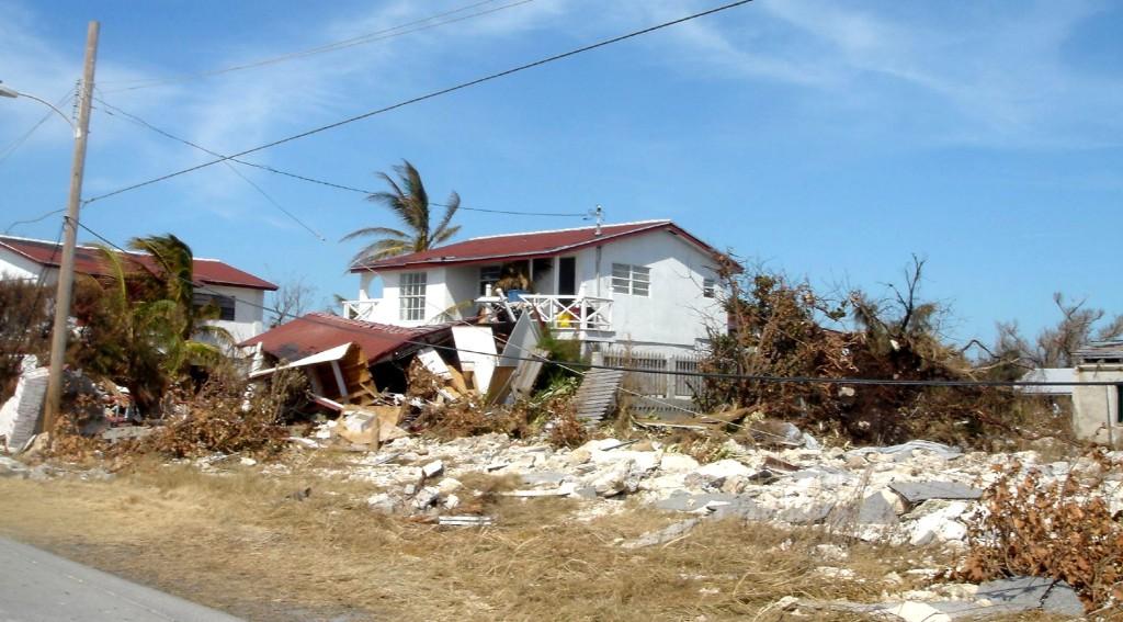 Ouragan aux Bahamas