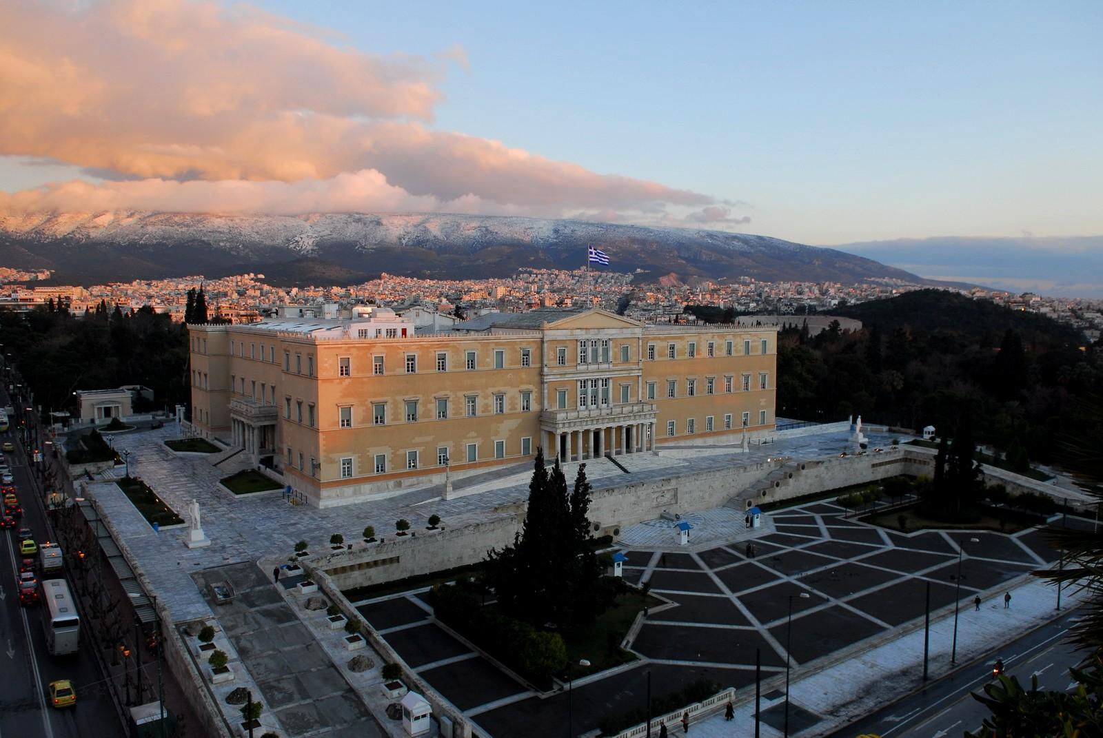 Le Parlement en Grèce