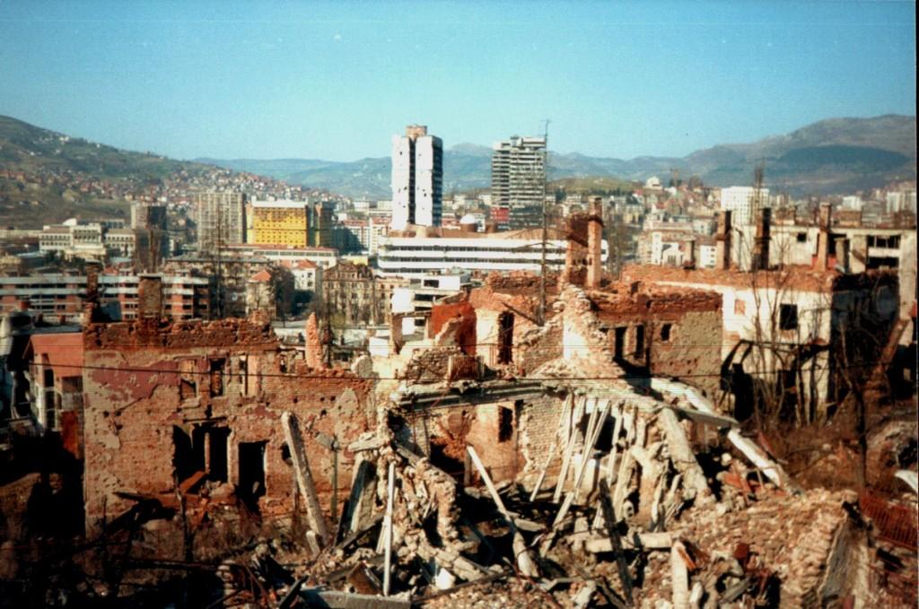 Sarajevo en 1997