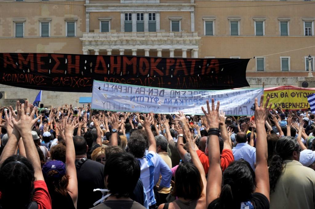 Révoltes en Grèce