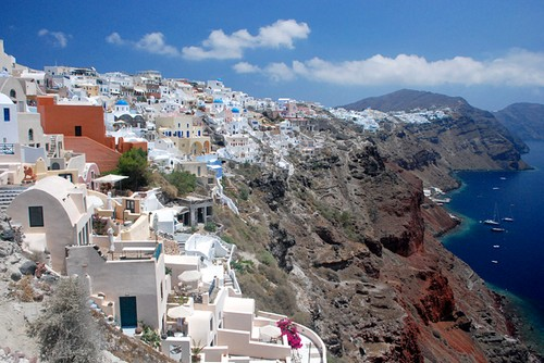 Santorini en Grèce
