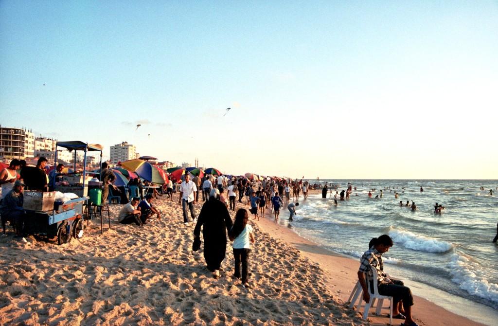 La Plage de la Ville de Gaza