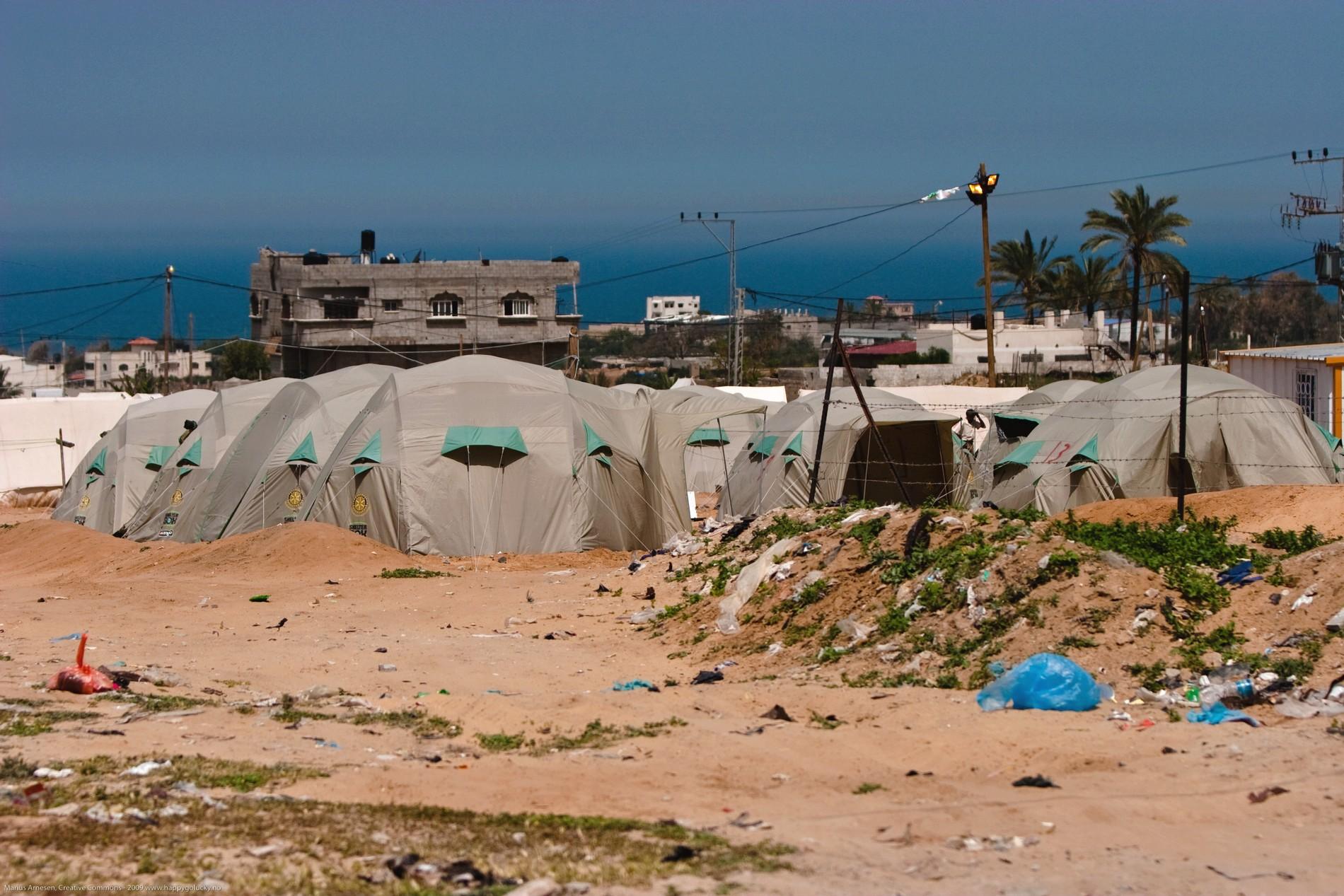 עזה Photo: Humanitaire à Gaza