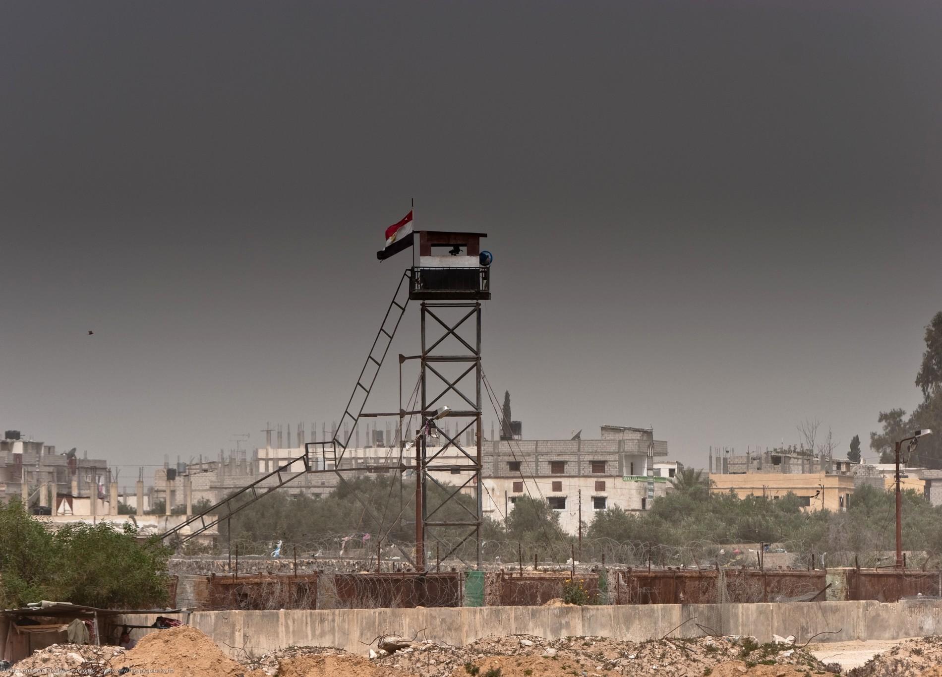 Militaire Bande de Gaza