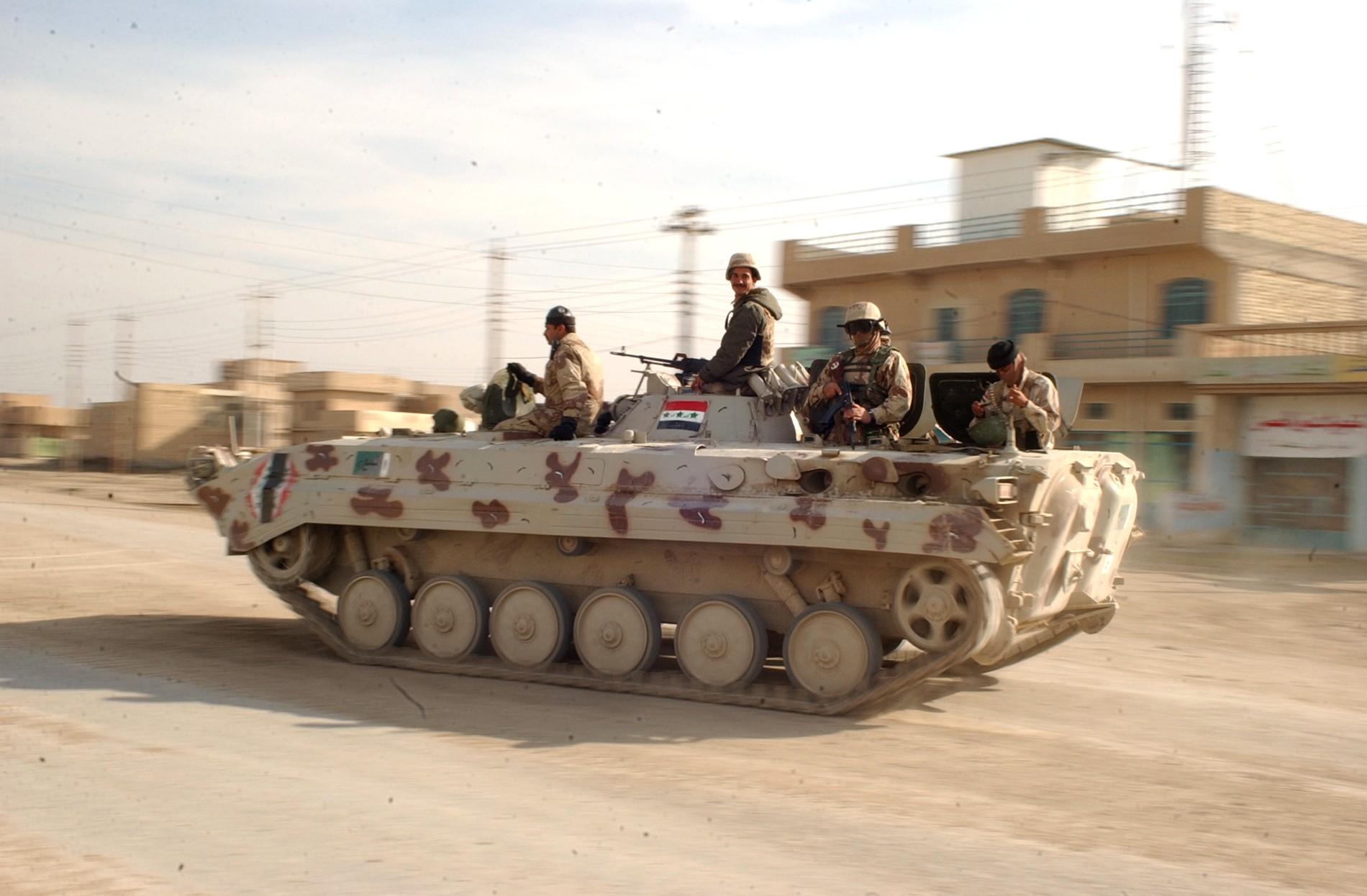 Soldats en Irak