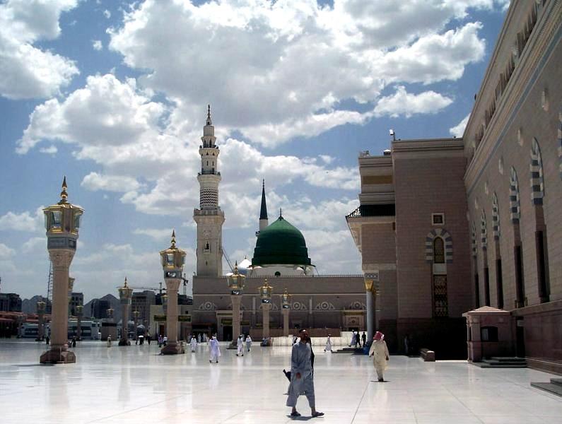 Mosqué de Al-Masjid al-Nabawi
