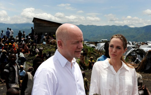 Liste des actions humanitaires d'Angelina Jolie