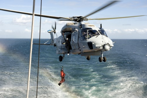 Missions humanitaires en cours de l'armée française