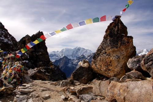Sommet de montagne au Népal
